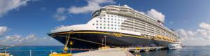 El Buque Disney Fantasy Cruise en la visita virtual