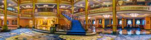 Majestic buque Lobby Disney Fantasy en Realidad Virtual