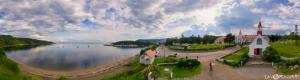 Tadoussac Bay y la Realidad Virtual Capilla india